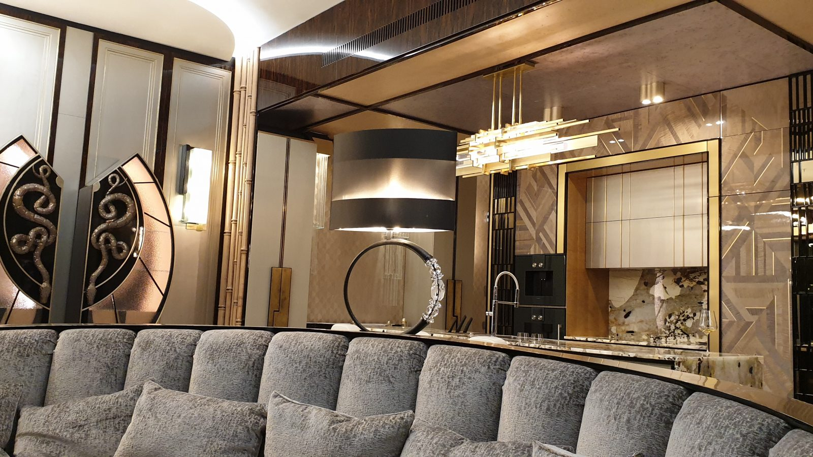 Apartamentai singapūre (Interjero dizainerė - Eglė Mieliauskienė, Egli Design)