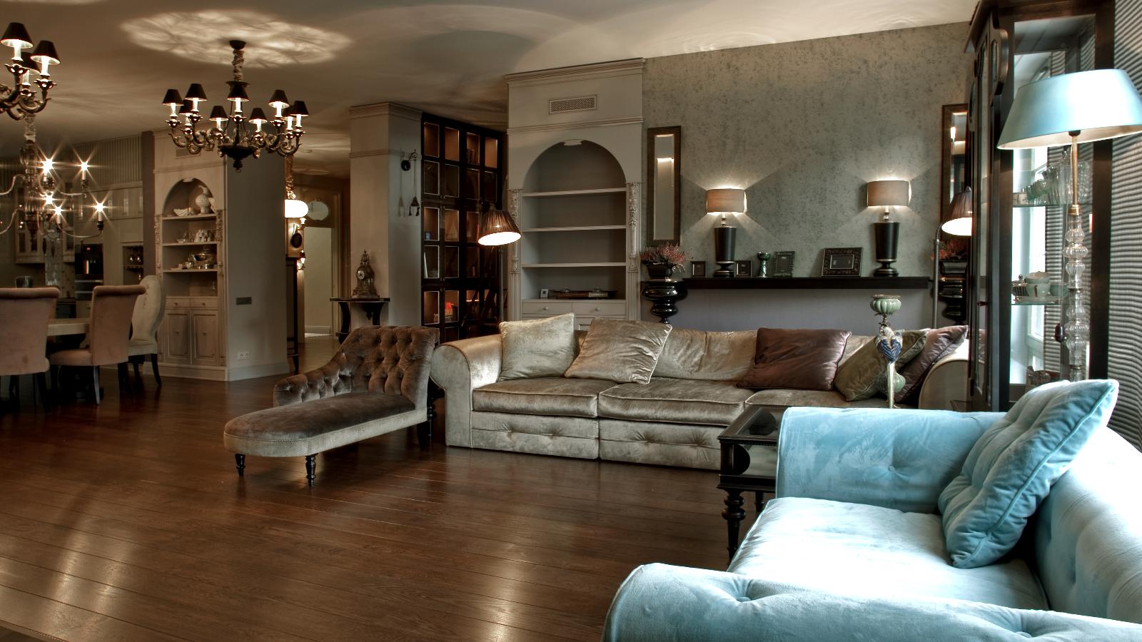 Klasikinis interjeras Senamiestyje (Interjero dizainerė - Eglė Mieliauskienė, Egli Design)
