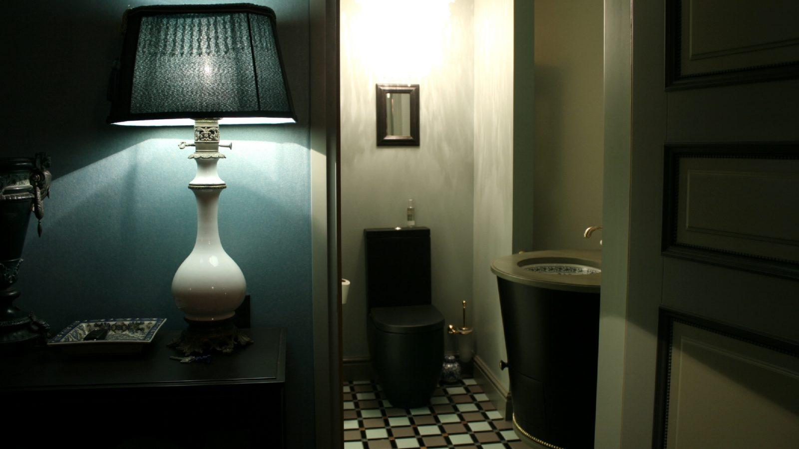 Apartamentų interjeras senamiestyje